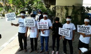 Aksi Solidaritas Utk Kasus Gemulo