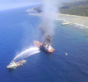 Kapal Tanker Meledak Di Sumenep