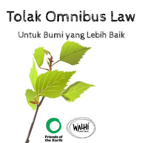 Ruu Cikar Omnibus Law Kemunduran Hukum Indonesia Pemerintah Mengabaikan Keselamatan Rakyat Ancaman Bencana Dan Lingkungan Hidup Adil Dan Lestari